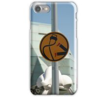 0837 Pedestrians are double points this week iPhone Case/Skin