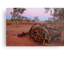 Cart Ruin, Old Andado Station, Outback Australia Metal Print