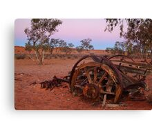 Cart Ruin, Old Andado Station, Outback Australia Canvas Print