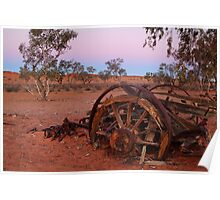 Cart Ruin, Old Andado Station, Outback Australia Poster
