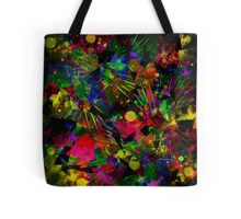 Spiky Psychedelic  Tote Bag