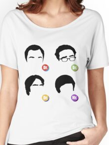 The Big Bang Theory - Dr. Dr. Dr. Mr. Women's Relaxed Fit T-Shirt