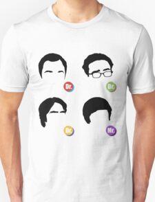 The Big Bang Theory - Dr. Dr. Dr. Mr. T-Shirt