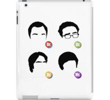 The Big Bang Theory - Dr. Dr. Dr. Mr. iPad Case/Skin