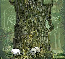 Rainforest 1 by David  Kennett