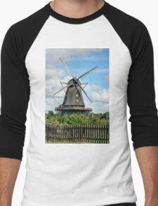 Windmill - HDR Men's Baseball ¾ T-Shirt