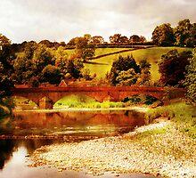 Sawley Bridge by Catherine Hamilton-Veal  ©
