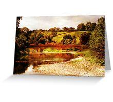 Sawley Bridge Greeting Card