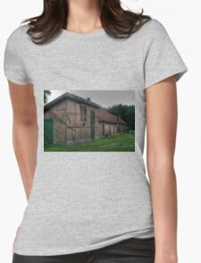 Old Brick Barn - HDR Womens Fitted T-Shirt