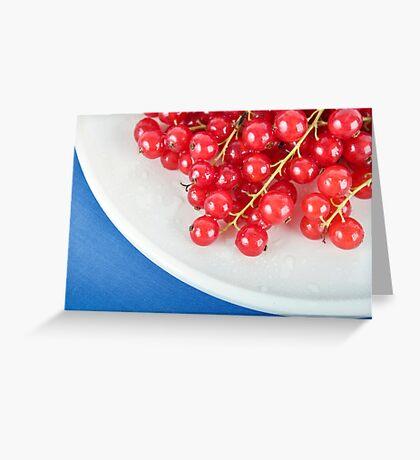 Fresh Currants Greeting Card