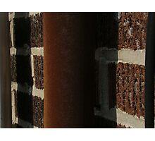 hit  a brick wall  Photographic Print