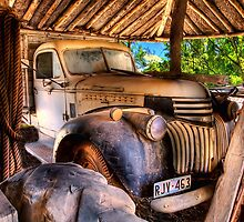 Retired old Chev by Shannon Rogers