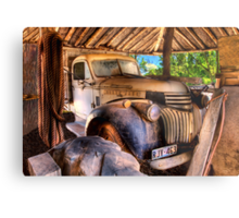 Retired old Chev Metal Print