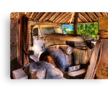 Retired old Chev Canvas Print