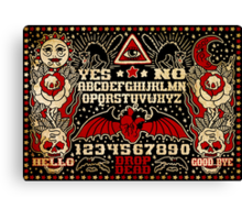 Ouija Board Canvas Print