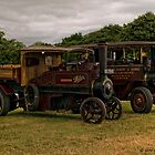 Foden Steam Wagons by Aggpup