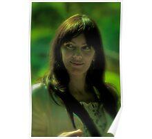 Lady in green. by Brown Sugar . Views (378) Thanks !!! Dziękuję bardzo lubię to właśnie !!! Featured * Hope you like it impressionism & Claude Monet . Poster
