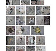 Found Alphabet by Leigh Anne Brader