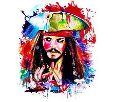 """Captain Jack Sparrow"" by IsabelSalvador"