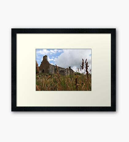 Homeland Creeslough -Donegal Ireland  Framed Print