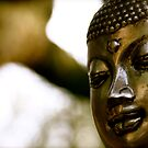 Buddha head by Richard Pitman