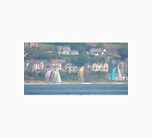 Boats in Water Colour  - Donegal - Buncrana Ireland Unisex T-Shirt