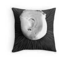 Mushroom (detail) Throw Pillow