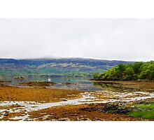 Low Tide at Loch Sunart Photographic Print