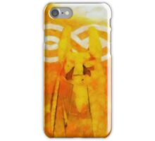 Anubis by Sarah Kirk iPhone Case/Skin