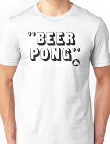 Beer Pong Unisex T-Shirt