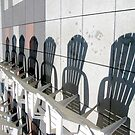 Pool chairs by Mary Tomaselli