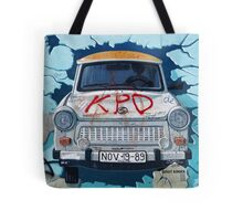 Berlin Wall Car Tote Bag