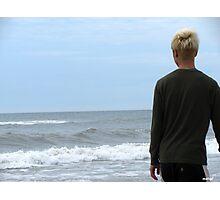 Blond Hair Photographic Print