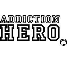 Addiction Hero Photographic Print