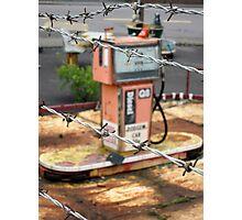 The abandoned amusement park Photographic Print