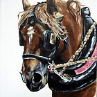 Work Horse in Harness by bjredmond
