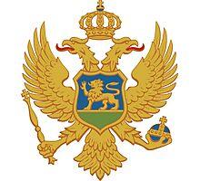 Coat of Arms of Montenegro  Photographic Print