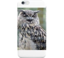 Owl eat you  iPhone Case/Skin