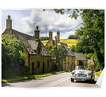 Yesteryear. The Cotswolds. Poster