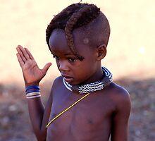 HIMBA GIRL  by WILDLIFECOSMOS
