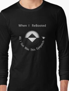 ReBoot - Enzos Eyepatch (White) Long Sleeve T-Shirt
