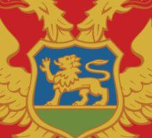 Coat of Arms of Montenegro (Round) Sticker