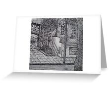 Silent Street Greeting Card