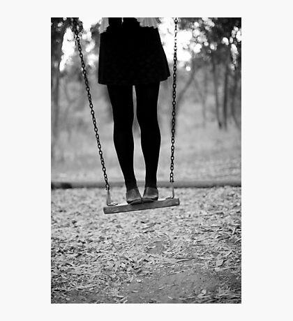 on swing Photographic Print