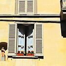 Window in Bergamo by Christine Wilson