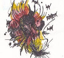 Batman Rage by Bianca Gill