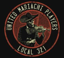 United Mariachi Players One Piece - Short Sleeve