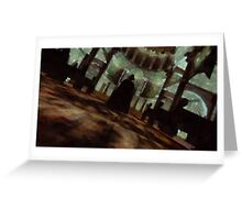 Jack the Ripper by Sarah Kirk Greeting Card