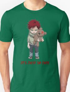 It's just so cute - Gaara Teddy Unisex T-Shirt