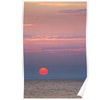 Lake Saint Clair Sunrise  Poster
